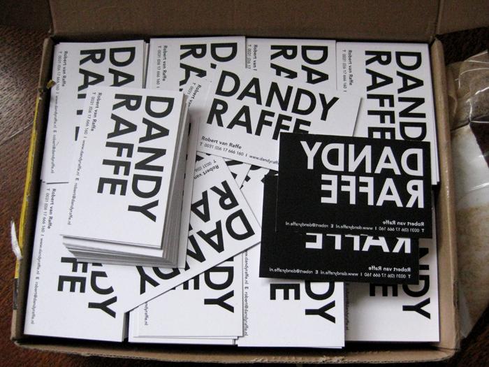 dandy-visitekaartjes